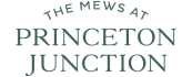 The Mews at Princeton Junction transparent logo.